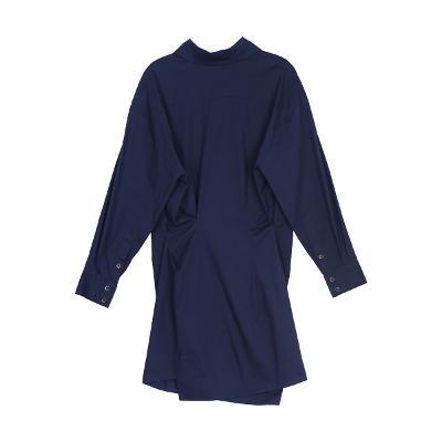 shirt dress navy